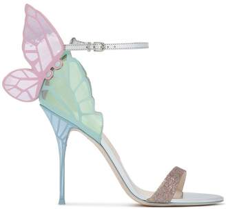 Sophia Webster Pastel chiara butterfly 100 leather sandals