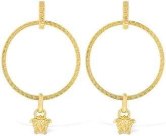 Versace Medusa Charm Earrings