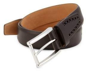 Cole Haan Leather Buckle Belt