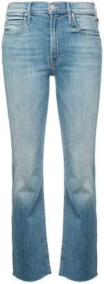 Mother dutchie ankle fray jeans