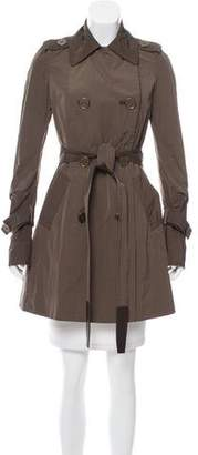Kaufman Franco KAUFMANFRANCO Belted Trench Coat