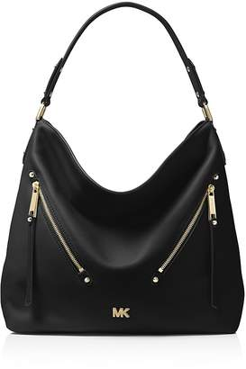 MICHAEL Michael Kors Evie Large Leather Hobo