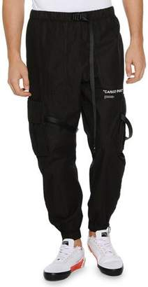 Off-White Men's Parachute Cargo Pants