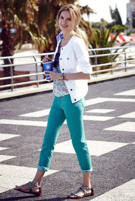 Crop Coloured Jeans