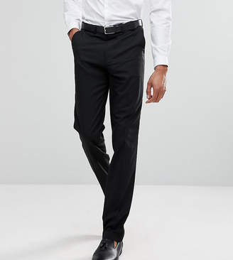 Asos DESIGN TALL Slim Tuxedo Suit Pants In Black
