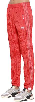 adidas By Alexander Wang Aw Wrinkled Tear Away Track Pants