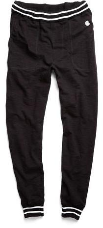 Todd Snyder + Champion Jersey Sweatpant In Black