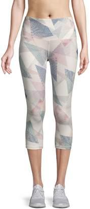 Reebok Printed Capri Leggings