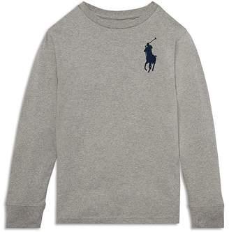 Polo Ralph Lauren Boys' Long-Sleeve Big Pony Tee - Big Kid