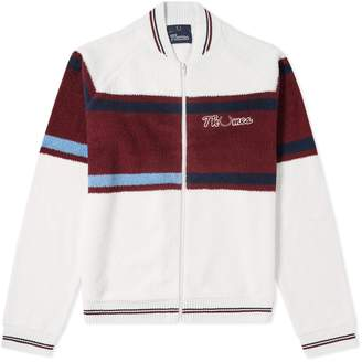 Fred Perry x Thames Loop Knit Zip Bomber