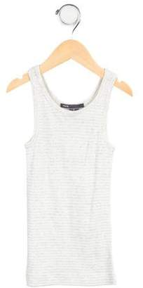 Vince Girls' Striped Knit Top w/ Tags