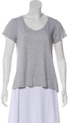 Rebecca Taylor Crew Neck Short Sleeve T-Shirt