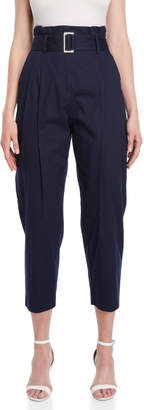 Roberto Collina Pleat Front Belted Pants