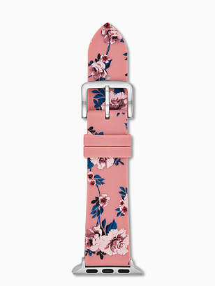 Kate Spade Silicone pink floral Apple Watch® strap