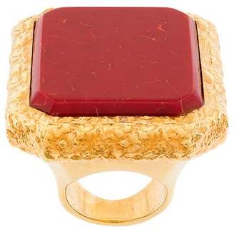 Balenciaga Large Square Ring