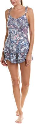 Josie Natori Avant Garden 2Pc Pajama Short Set