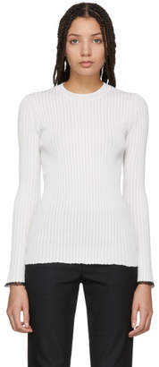Proenza Schouler Off-White Lightweight Knit Sweater