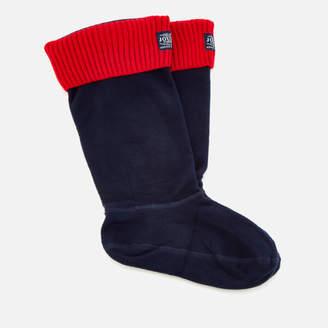 Joules Women's Hilston Fleece Welly Socks - French Navy