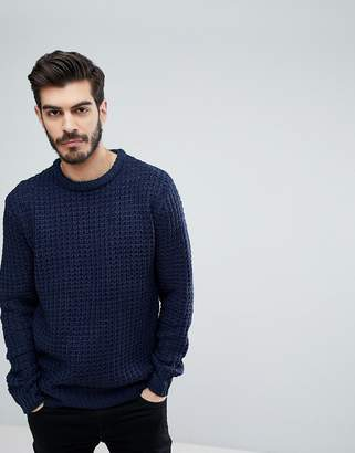 Brave Soul Color Twist Crew Neck Sweater