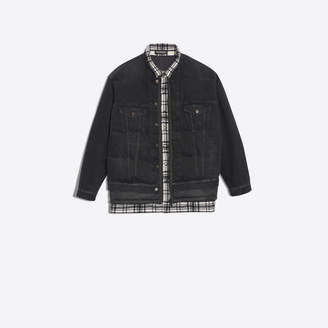 Balenciaga Classic denim jacket with quilted effect