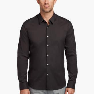 James Perse MATTE STRETCH POPLIN DRESS SHIRT