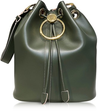 Marni Genuine Leather Drawstring Bucket bag