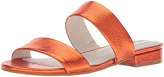 Kenneth Cole New York Women's Viola Double Band Flat Sandal