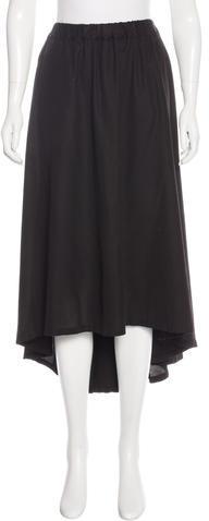 ZuccaZucca A-Line Midi Skirt