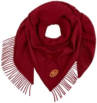 Burberry Embroidered Crest Scarf