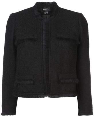 Paule Ka fringe cropped jacket