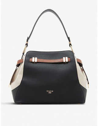 Dune Darabella faux-leather tote bag
