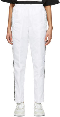 Opening Ceremony White Nylon Warmup Lounge Pants
