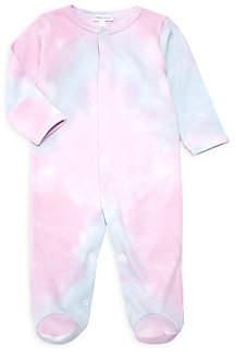 Baby Noomie Baby's Tie-Dye Pima Cotton Footie