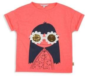 Little Marc Jacobs Little Girl's & Girl's Miss Marc Sequin T-Shirt