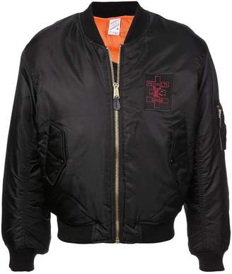 Yang Li Psychic patch bomber jacket