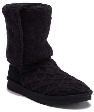 UGG Lattice Cardy UGGpure(TM) Knit Boot