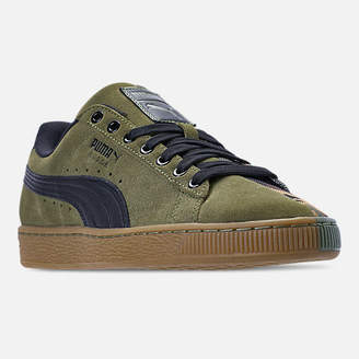 Puma Men's Suede Classic Split Camo Casual Shoes