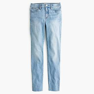 """J.Crew Tall 9"""" high-rise toothpick jean in wilkerson wash"""