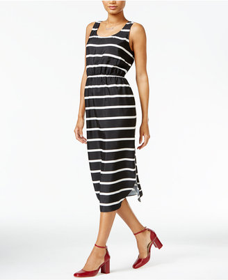 Maison Jules Striped Midi Dress, Only at Macy's $79.50 thestylecure.com