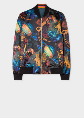 Paul Smith Men's 'Explorer' Print Bomber Jacket