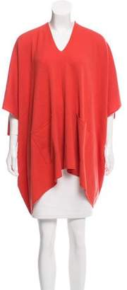 Michael Kors Cashmere Short Sleeve Poncho w/ Tags