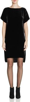 Eileen Fisher Drop Shoulder Velvet Dress $338 thestylecure.com