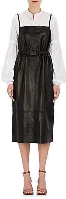 Robert Rodriguez Women's Leather Cami Dress
