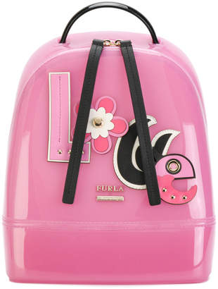 Furla appliquéd backpack