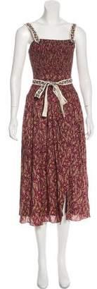 Cinq à Sept Sleeveless maxi dress