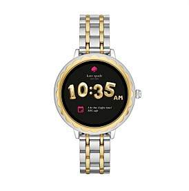 Kate Spade Scallop Two-Tone Smartwatch