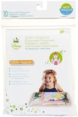 Disney Neat Solutions Disposable Table Topper Placemats, Princess, 60-count by