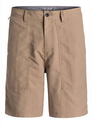 """Quiksilver NEW QUIKSILVERTM Mens Tactics Amphibian 19"""" Walk Short Shorts"""