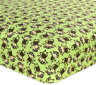 Carter's Cotton Fitted Crib Sheet