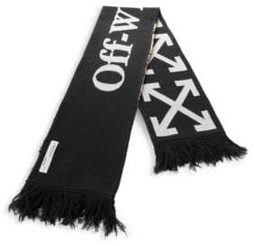 Off-White Arrow Wool-Blend Scarf